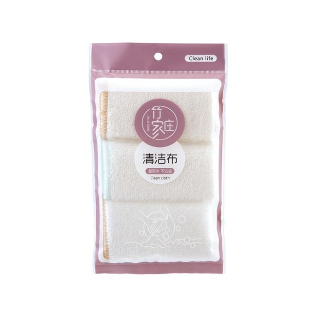 ZJZ-0930 竹纤维清洁布3片装