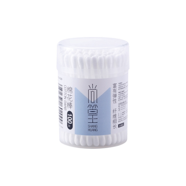 SH-0209 100支小圆塑棉棒