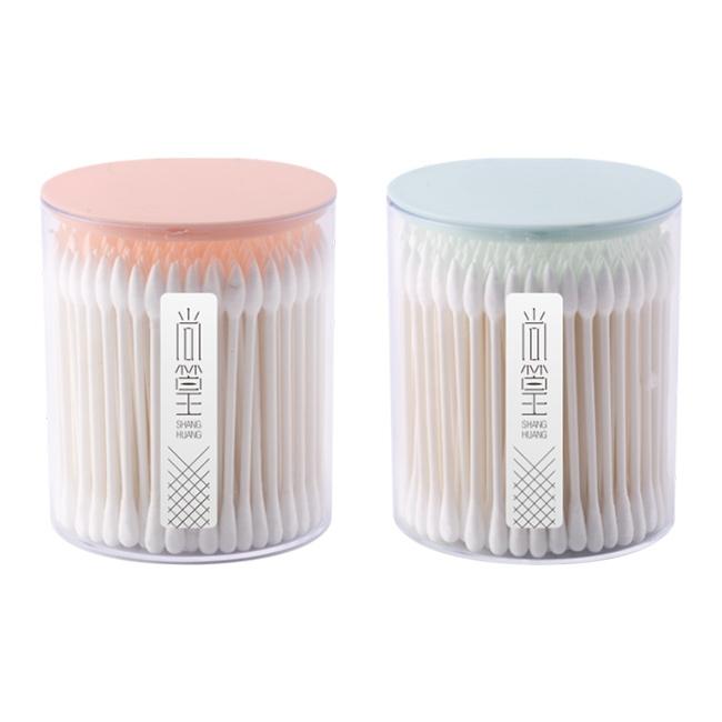 SH-0252 沐浴棉签100支(圆)
